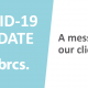 COVID-19 Update: A message to our clients