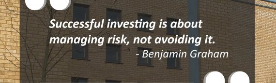 """""""Successful investing is about managing risk, not avoiding it."""""""